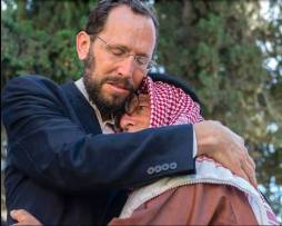 abbraccio israele-palestina